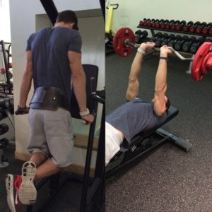 Here's two great arms exercise supersets