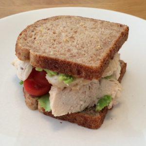 Pack on mass with the lean muscle sandwich