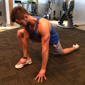 The ideal stretch for a deeper squat