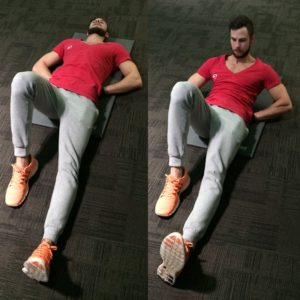 Get strong abs with the mcgill curl up