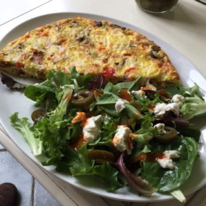 This frittata is packed with protein