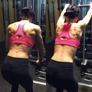 Shape and tone a defined back