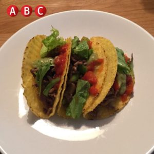 lean beef tacos