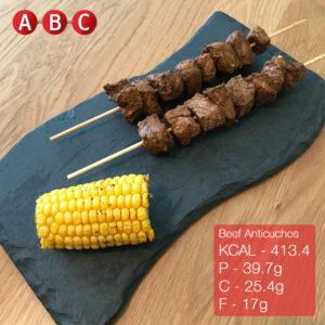 Beef anticuchos