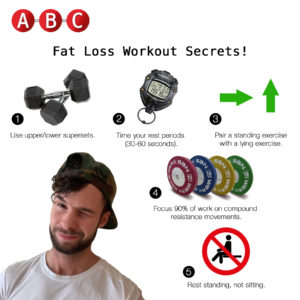 Fat loss workout secrets